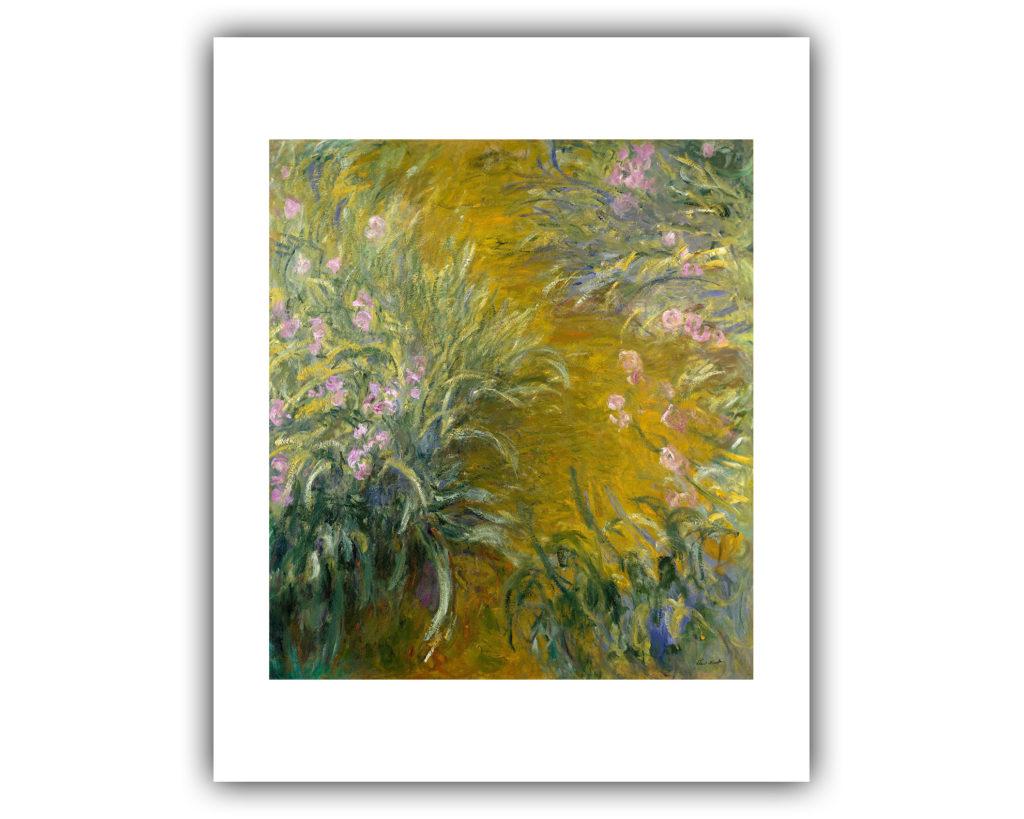 "Claude Monet : ""The Path Through The Irises"" (1914-1917"