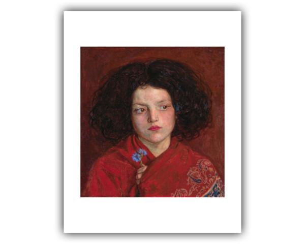 Ford Madox Brown (1821-1893), The Irish Girl -   Irish